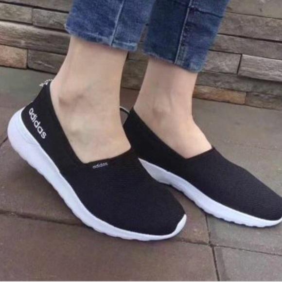 Adidas Neo Cloudfoam Slip Ons